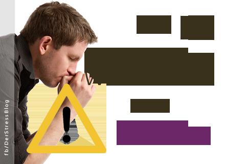 Die 13 wichtigsten Warnzeichen von Stress