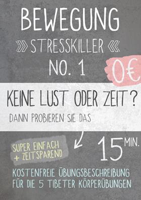 Bewegung als Stresskiller No.1